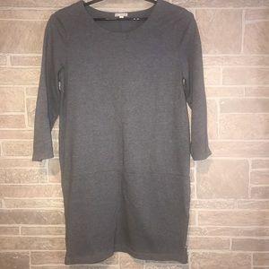 Gap Gray Knit Dress Size Large